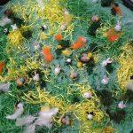 Easter sensory tray